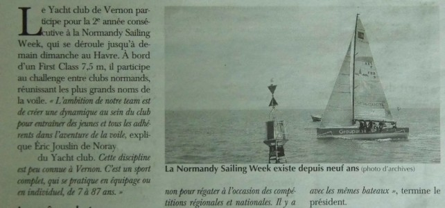 Paris Normandie – 14 juin [Normandy Sailing Week]